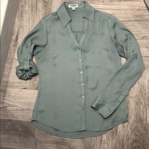 Express classic Portofino blouse size XS